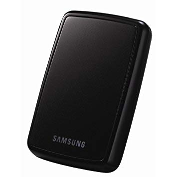 Samsung S2 Portable 2,5 Zoll externe Festplatte 250 GB, USB 2.0, pianoschwarz